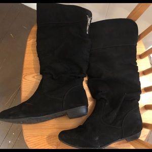 Shoes - Faux Suede Boots